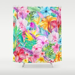 beauty floral i Shower Curtain