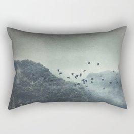 Misty Mountains Vol. X Rectangular Pillow