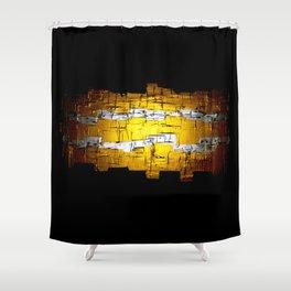 Golden Era Path  Shower Curtain