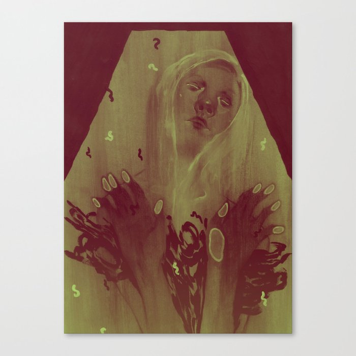 Sleeper Canvas Print