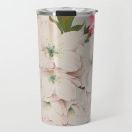 Vintage Japanese Watercolor - Mikuruma Gaeshi Travel Mug