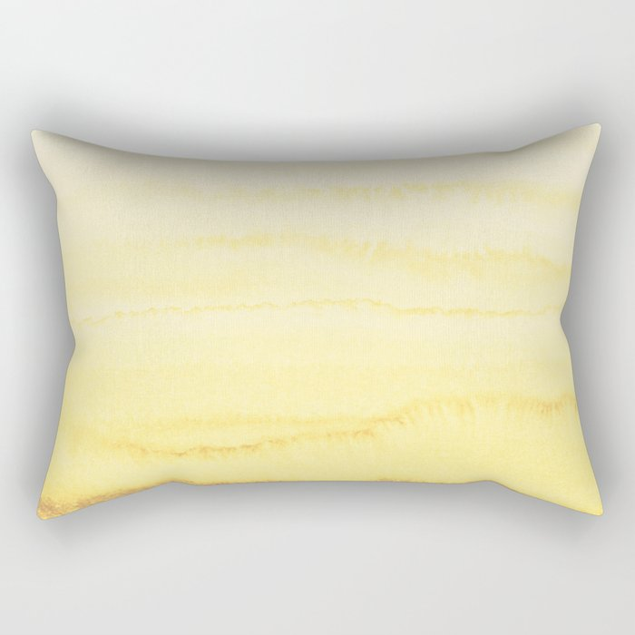 WITHIN THE TIDES - SUNNY YELLOW Rectangular Pillow