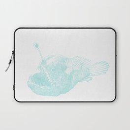 Black seadevil - blue Laptop Sleeve