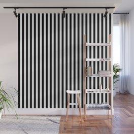 Black & White Stripe Wall Mural
