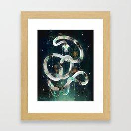 The Rainbow Serpent Framed Art Print