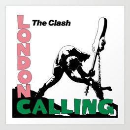 Theclash Londoncalling Art Print