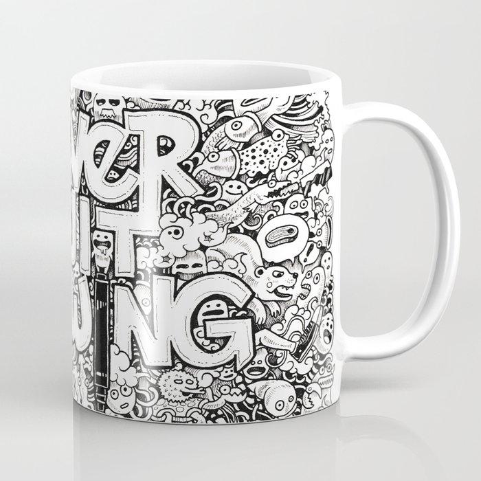 Never Quit Drawing Coffee Mug