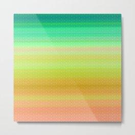 summer gradient Metal Print
