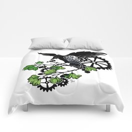 Raven and Ginkgo - Summer Cycle Comforters