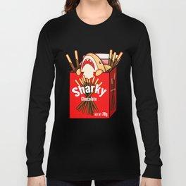 Chocolate Sharky Long Sleeve T-shirt