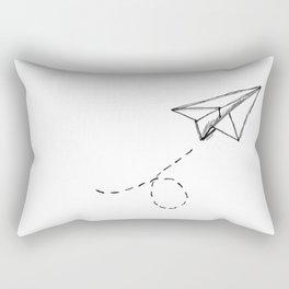 Paper Airplane 9 Rectangular Pillow