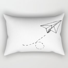 Paper Airplane 9 Rectangular Pillow