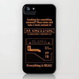 GREMLINS - Mr. Wing's Store iPhone Case
