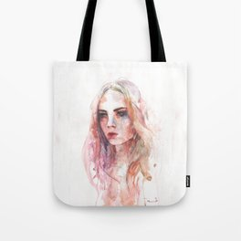 The women in red Tote Bag