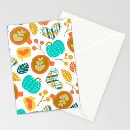 Pumpkin Spice Love Stationery Cards