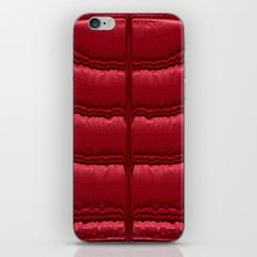 Abstract Red Quilt    iPhone Skin