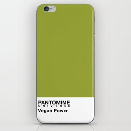VEGAN POWER iPhone Skin