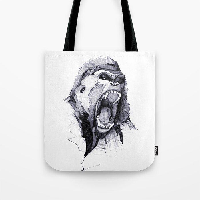 Wild Rage Tote Bag