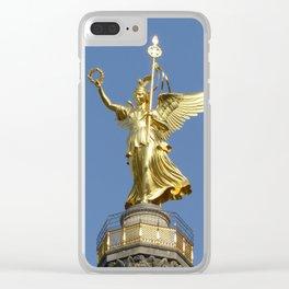 Victory Column (Siegessäule), Grosser Stern, Berlin Clear iPhone Case