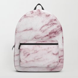 Contento rosa pink marble Backpack