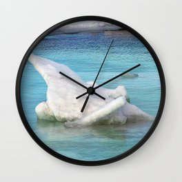 Ice Pile-Up  Wall Clock