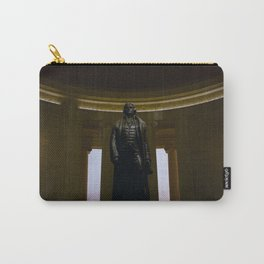 Thomas Jefferson @ his Memorial in Washington DC Carry-All Pouch