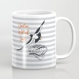 Sea adventure. Vacations without limits Coffee Mug