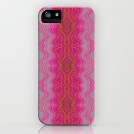 Pink Symmetry iPhone Case