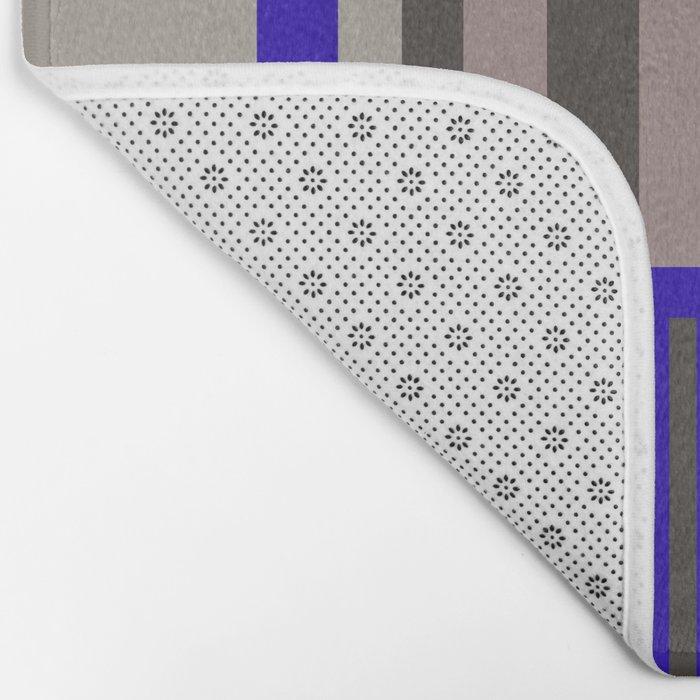 Funky fresh interior and fashion prints Bath Mat