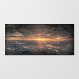 Unholy Sunrise Canvas Print