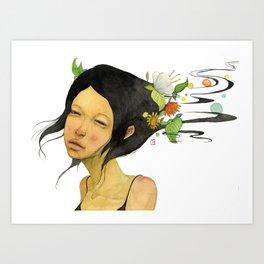 Shampoo  Art Print
