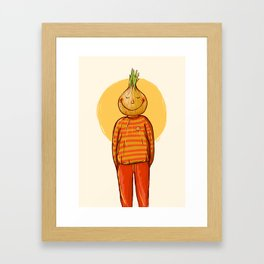 I'm alive Framed Art Print