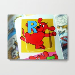 R is For Radiance Metal Print