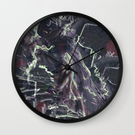 Beware a calm surface—you never know what lies beneath. Wall Clock