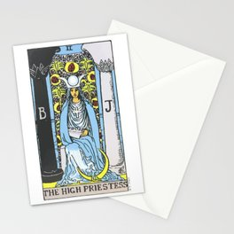 02 - 	The High Priestess Stationery Cards