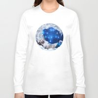lunar Long Sleeve T-shirts featuring Lunar Incantation by Diogo Verissimo