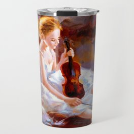 Oil Painting - Ballet Travel Mug