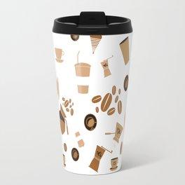 Coffee pattern Travel Mug