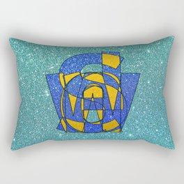 SWEDEN - Glitter Rectangular Pillow