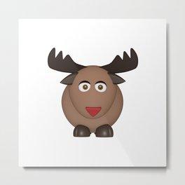 Reindeer/Elk Metal Print