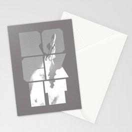 ROCKIT (White on Grey) Stationery Cards