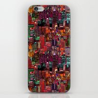 cities iPhone & iPod Skins featuring Cities on Cities by Killian Hlava