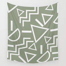 Shapes- lost and found Wall Tapestry