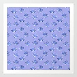 Preppy Palms Art Print