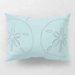 Sand Dollar Blessings Large Pattern - Pointilist Art Pillow Sham