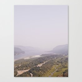 THE GORGE Canvas Print