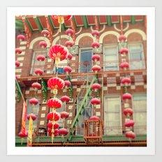 Chinatown III (San Francisco) Art Print