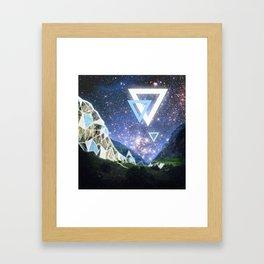 Triangula Framed Art Print