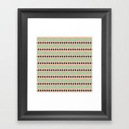 Tapas - Rows Framed Art Print