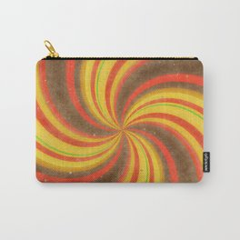Retro Candy Swirl Carry-All Pouch
